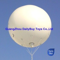 HB12 DHL&0.18mm Thickness PVC  Helium balloon  Advertising  PVC balloon/sky balloon New White color 2m 6.6ft