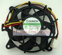 8cm  PMD1208PKV1-A 12V 3.7W 3line cpu cooler heatsink axial Cooling Fan