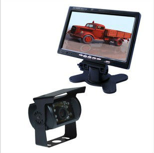 "CCD Truck Caravan Rear View backup Camera/7""TFT LCD +24V Monitor system"