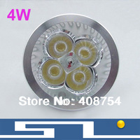 Sale!!Spotlight Bulb MR16/GU10/E27, LED Lamp, Save Power 4x1W LED light ,4W, WW/NW/CW, 40pcs/Lot