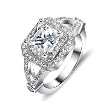 GNJ0578  Men's ring Fashion Gorgeous ! Dense Zircon ! 925 Sterling Silver Dinner Rings Bling 925 RING  SILVER JEWELRY