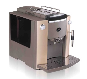 Free Shipping ,10 languages function,Automatic Latte Coffee Maker+4 colors for choosing+Visible operation system (LCD)