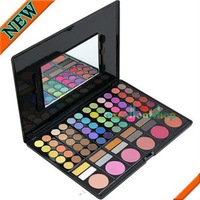 NEW 78 Pcs Professional Eye Shadow and Blush Palette Free shipping