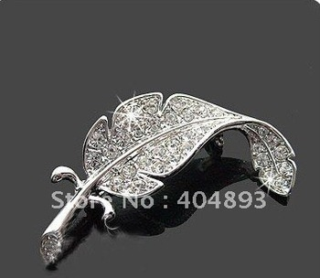 Free Shipping Broochs, Hot Sale Brooch, Wholesale Rhinestone Brooch K001