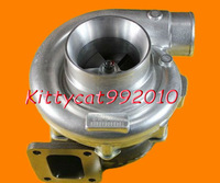 T76 T4 turbo .68 A/R Compressor .80 A/R oil&water a/r 80 800-900HP wet float bearing  turbocharger turbo charger