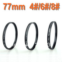 Free shipping Optical Glass  77mm Star Filter Cross 4 + 6 + 8 Point Filter+free bag for Nikon Canon Sony Pentax Camera