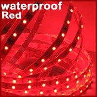 High Quality Waterproof Red LED Strip, 5m/Roll, 300LEDs/Roll, DC12V, Thinner, Lighter [Housing Lighting