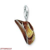 Free Shipping  wholesale Cowboy hat  pendants,925 silver charm pendants,925 sterling silver jewelry,fashion pendants