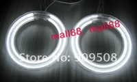 Free Shipping 4 X CCFL Angel Eyes White Halo Ring Car Light Lamp For HYUNDAI COUPE 03-06 Tiburon
