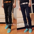 Wholesale-Hot sell ! free shipping young men new fashion tight brand jeans