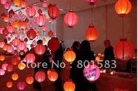 5 pcs /lot , wholesale free ship chinese battery paper lanterns ,10 inch size,room decration , 25 cm!