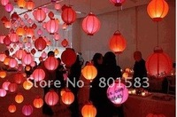 5 pcs /lot , wholesale free ship chinese battery paper lanterns ,10 inch size,room decration , 25 cm!