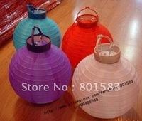 15 pcs /lot , wholesale free ship chinese battery paper lanterns ,10 inch size,room decration , 25 cm!