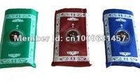 10pcs/lots Hot!!! high quality    muslim people waterproof Mini pocket  prayer  mat  with compasses  Free shipping