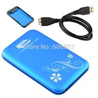 Shipping via EMS or DHL 4pcs/lot 2.5 inch SATA to USB3.0 HDD Case / Enclosure / Box Good prices