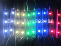 2strip/lot SMD5050 Red Green Blue Yellow Warm/Cool White RGB flux module Waterproof IP65 DC12V,20pcs 60 leds free shipping