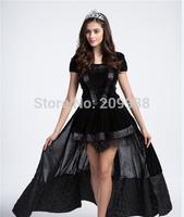 black  women queen costumes,Halloween Costume for women, witch cosplay FE654