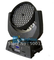 Free Shipping Good Price Guaranteed 100% Big Power108*3W ZOOM 10-90 Degree auto ajustment RGBW/A LED Moving Head Light