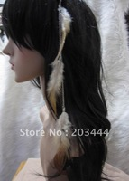 new arrival feather hairpin,feather hair accessory,free shipping