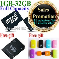sales promotion,low price 4GB, memory card ,100% warranty, free shipping, free card reader, free adapter.