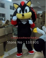 Black Suit Knuckles Sonic the Hedgehog Mascot Costume Adult Size Fancy Dress
