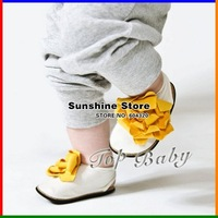Sunshine store #2B2002  18 pair/lot wholesale 2012 new TOP BABY shoes  flower!baby boots sandals baby walker cute shoes CPAM