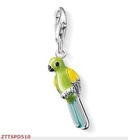Free Shipping wholesale   parrot  charms   pendant