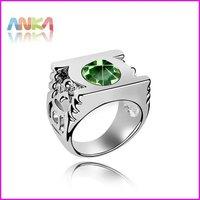 Free Shipping Crystal jewelry Green Lantern DC Super Hero Metal Power Ring Made With Swarovski Elements #86870