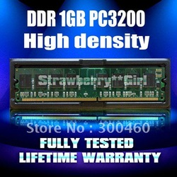 Desktop RAM DDR1 1GB PC-3200 184PIN DDR400 computer memory module +wholesale price -5pcs/lot(China (Mainland))