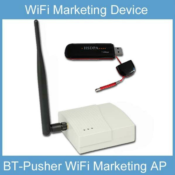 BT-Pusher WiFi Advertising AP(Access Point) with 3G WAN access,4800maH battery(China (Mainland))