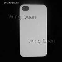 Fast shipping! Good quality black/white hard back case For iPhone 4 4S 200pcs/lot  free shipping via DHL/EMS case for iPhone 4S