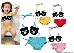 Swimwear for toddlers+kids thermal boys sale+girls with Cap Size :1Y-7Y(China (Mainland))