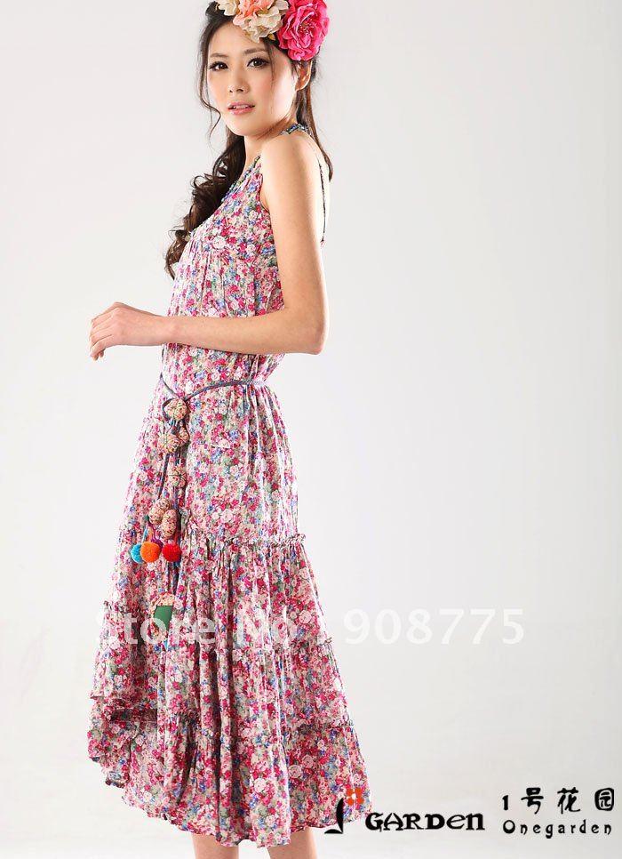 New Design Cotton Women Slip Fashion Dress