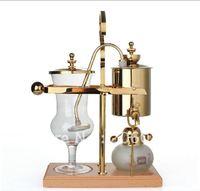 Royal balancing siphon coffee maker/belgium coffee maker,syphon coffee maker,Golden 450cc (Vacuum Syphon Coffee Maker )