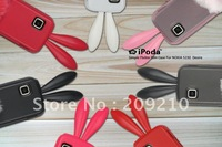 Free shipping ! For Nokia 5230 5233 5235 5238 5228 case Rabbit soft silicone Case cartoon case 1pcs min order