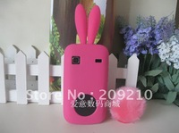 Free shipping !For Samsung Galaxy Gio S5660 I569 case Rabbit soft silicone Case cartoon case with high quality 1pcs min order