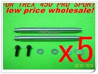 F00563-5   F-H45021A Feathering Shaft For ALIGN TREX T-REX 450 PRO SPORT V3  + Free shipping