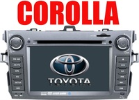 "7""DVD GPS BLUETOOTH CD/RADIO/MP3/MP4/TV/iPOD IN/Reverse Camera for TOYOTA COROLLA"