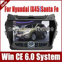 "8"" Head Unit Car DVD Player GPS Navigation for Hyundai IX45 Santa Fe 2013 with Radio Bluetooth TV Map USB AUX Auto Stereo Audio"