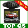 Discount! Car DVR,video camera recorder with 6 LED night vision, Free shipping!