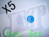 F00209-5 5X 450 Gear Set,TREX 450SE V2/GF/XL/CF/Pro/Sport + Free shipping