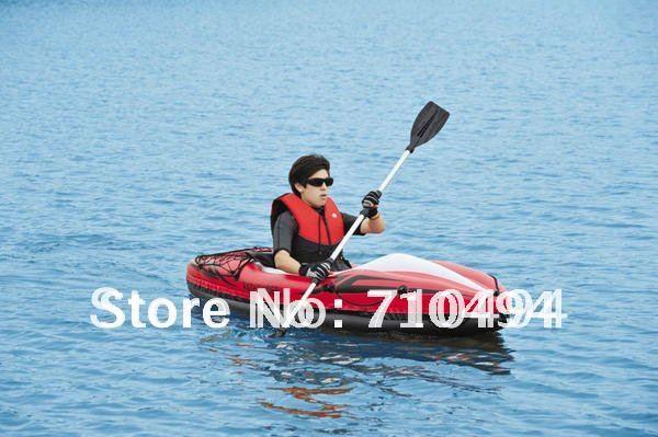free DHL shipping JiLong JiLong PATHFINDER 1 Person drift boat, inflatable Kayak, inflatable drift canoe(China (Mainland))