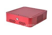 red computer server cabinet