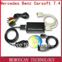 Wholesale - Mercedes Benz Carsoft 7.4 -- 1PCS with Free Shipping Cost