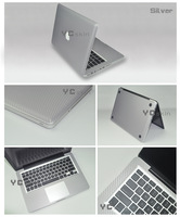 Free Shipping for Apple New MacBook Pro 13.3'' Carbon Fiber Sticker Skin Decal
