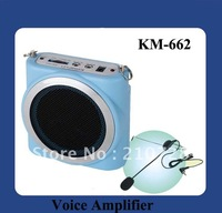 DHL Free Shipping Waistband Megaphone for teaching and tour guiding speaking (KM-662)