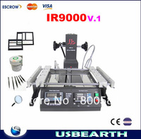Free shipping BGA Rework station IR9000,(IR6000 upgraded)+ BGA accessories,BGA soldering station,BGA station