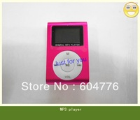 Free shipping (20pcs/lot ) Digital MP3 player with LCD screen support TF card In retail box