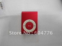 Wholesale-Cheapest  fashionable MP3 player with TF card/memory card slot 8 colors16pcs/lot free shipping