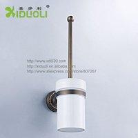 Xiduoli Free shipping European Style Wall Mount Toilet Brush Holder XDL-12704